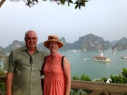 Halong Bay on our Viola Cruise