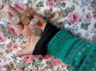 Mes boutons vintages