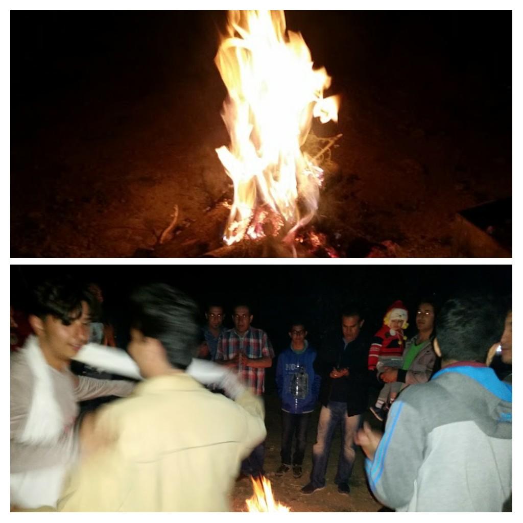 Chaharshanbe Suri celebrations.