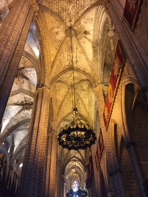 Ceiling of Barcelona Cathedral