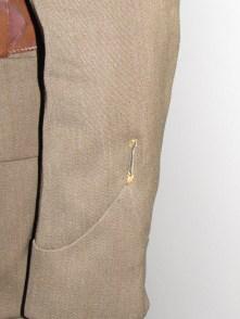 2nd NZEF jacket & trousers wound stripe
