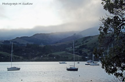 winter in Akaroa