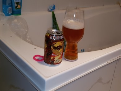 A perfect shower beer.