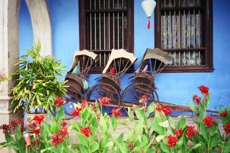 Blue Mansion, Penang, Malaysia