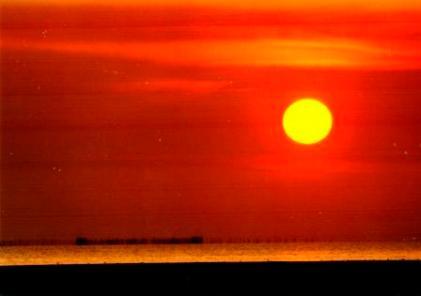 vivid sunset malaysia Parit jawa
