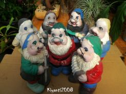 Gnomes - 7 Dwarfs before