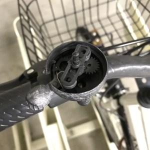 自転車ベル 交換