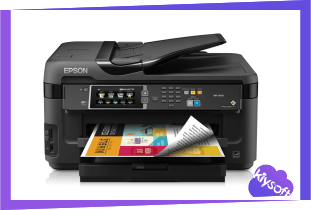 Epson WF-7610 Driver, Software, Manual, Download