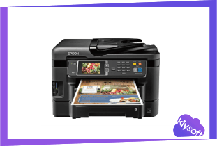 Epson WF-3640 Driver, Software, Manual, Download