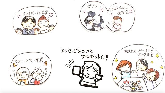 ホワイトボードアニメーション写真台紙4