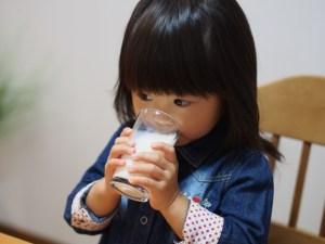 子供、貧血、食べ物、牛乳