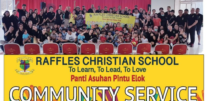 Raffles Goes To Pintu Elok Orphanage
