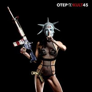 This is the album cover for Otep's new album Kult 45.