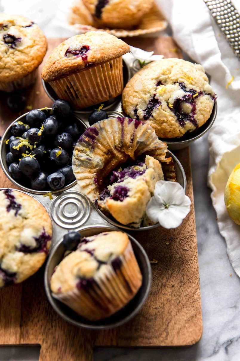 Fresh Blueberry Muffins - KJ & Company