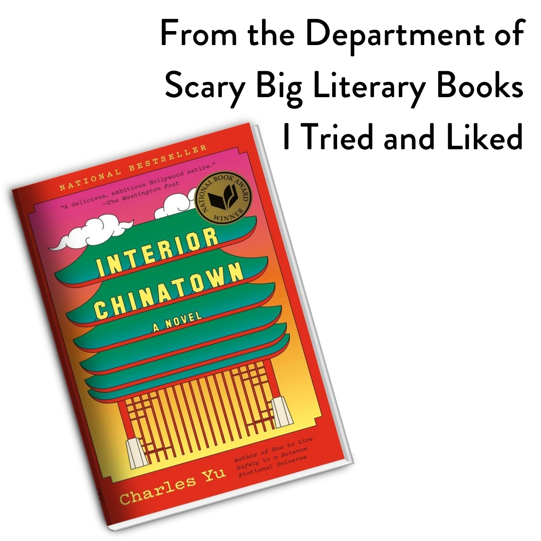 Discover interior chinatown as it's meant to be heard, narrated by joel de la fuente. Amreading Interior Chinatown Kj Dell Antonia