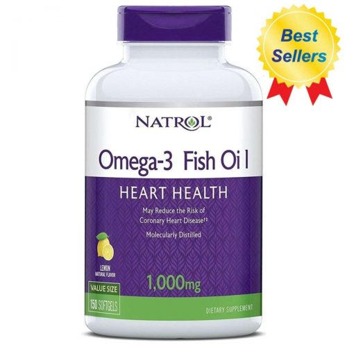 Natrol, Omega-3 Fish Oil