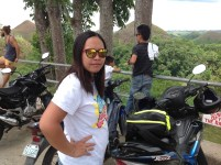 Arriving at The Chocolate Hills Bohol