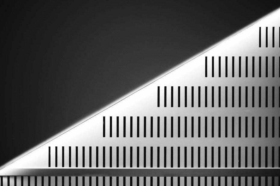 gray triangle illustration