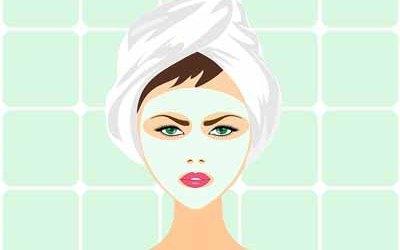 hjemmelaget ansiktsmaske
