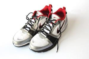 vond lukt i sko