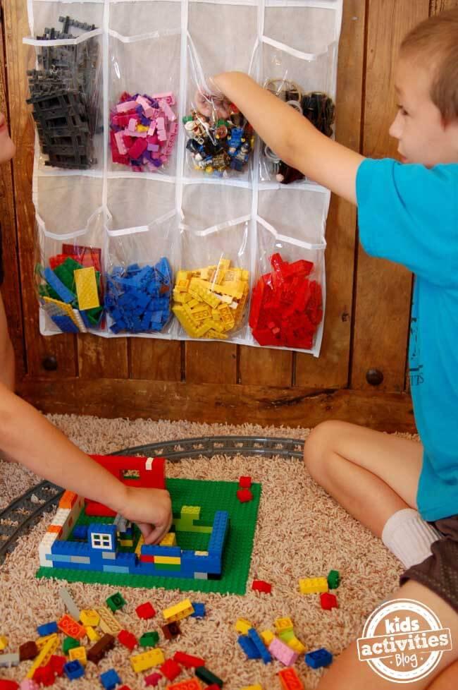 Organisering av Lego - 11 gode tips til lagre og organisere Lego