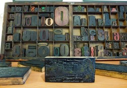 Letters and woodcuts