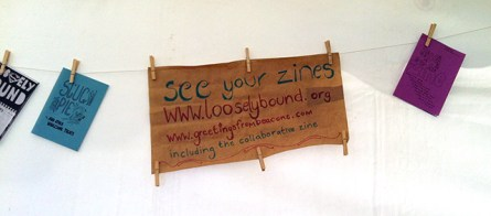 See the zines made or inspired by the Beacons Festival.