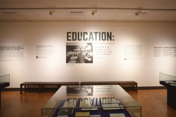Spencer Museum Education: The mightiest weapon