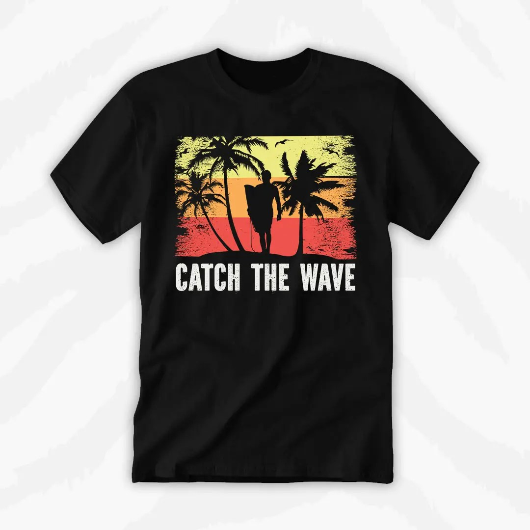 Graphic Tee Catch The Wave