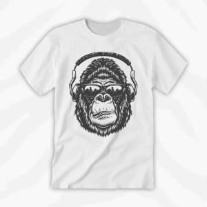 Graphic Tee Gorilla Music