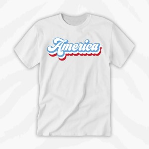 America Graphic Tee Holiday
