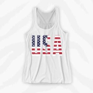 America USA Graphic Tank Holiday
