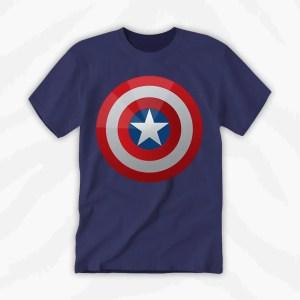 Captain America Shield Graphic Tee