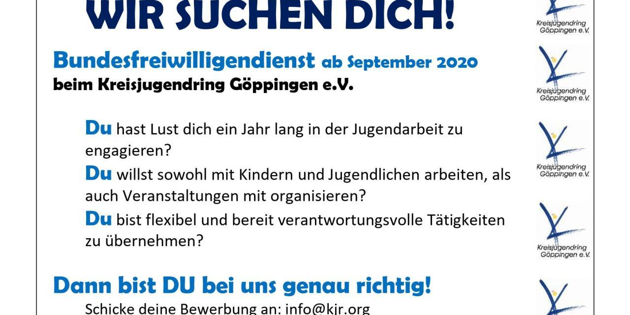 Bundesfreiwilligendienst (BFD) 2020/2021