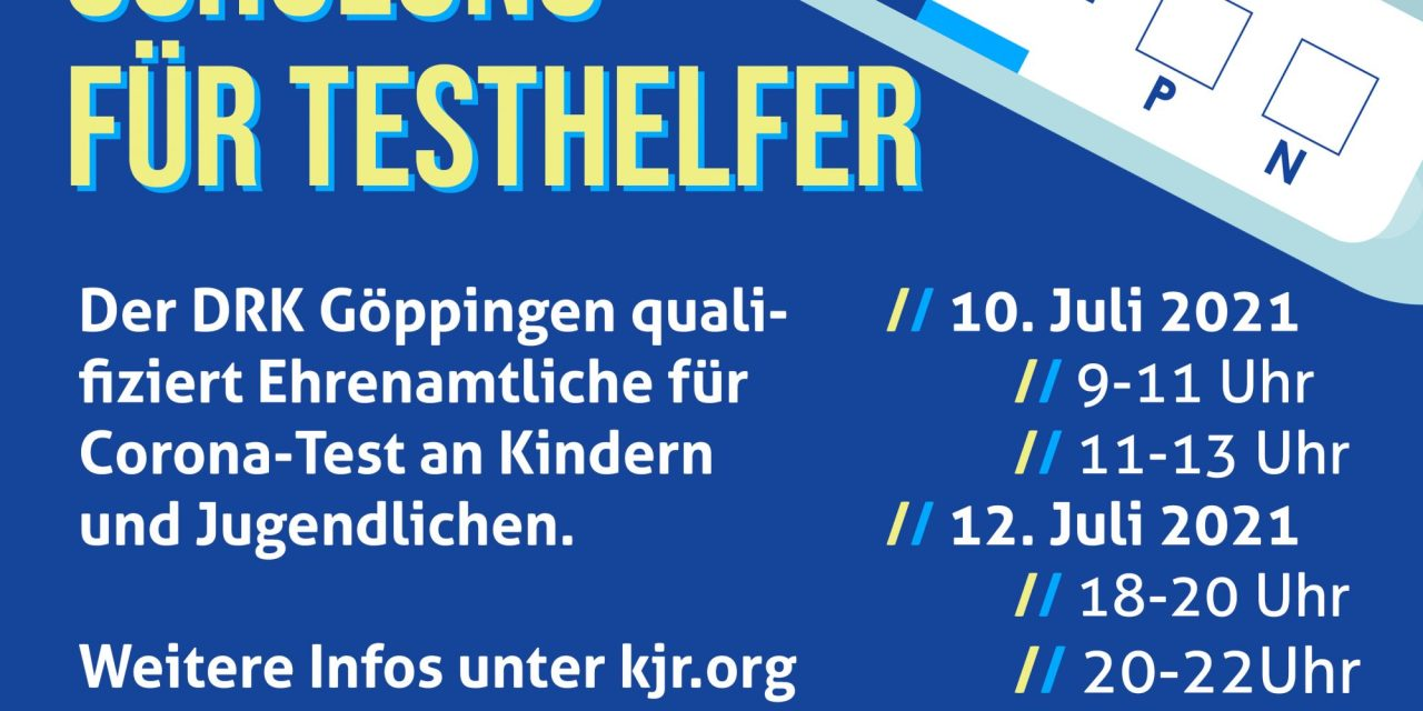 SCHULUNG FÜR CORONA ANTIGEN- SCHNELLTEST