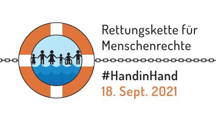 Rettungskette für Menschenrechte!