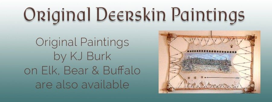 Deerskin Paintings
