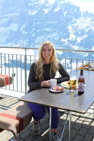 When you climb an alp... you get a meal!