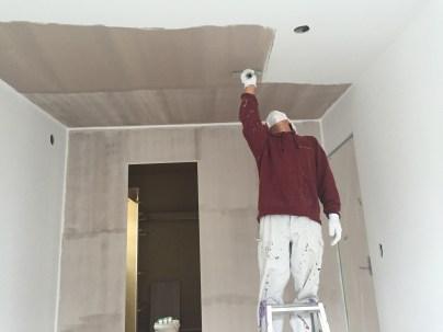 塗装工事 ドイツ漆喰 塗り