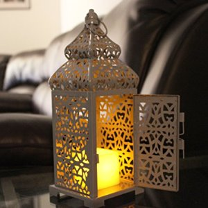 Gray-Temple-Moroccan-Style-Candle-Lantern-Small-0-2