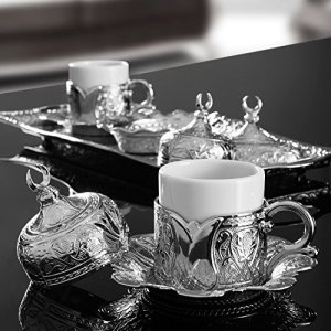 Ottoman-turkish-coffee-serving-set-espresso-latte-gaiwan-saucer-silver-0