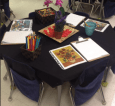 I made a Still Life invitation for Arts Ed. We discussed that Still Lifes are drawings of things that don't move (like flowers, fruit, bowls, etc.).
