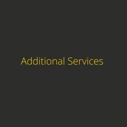 Additional graphic design services