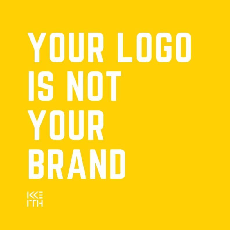 your logo is not your brand image