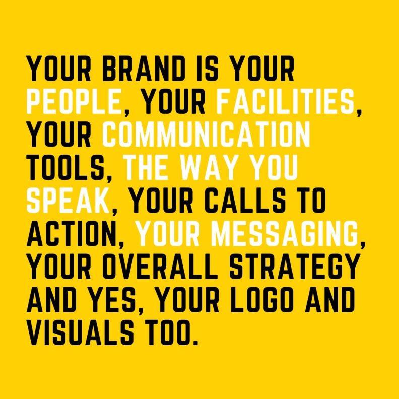 description of a brand