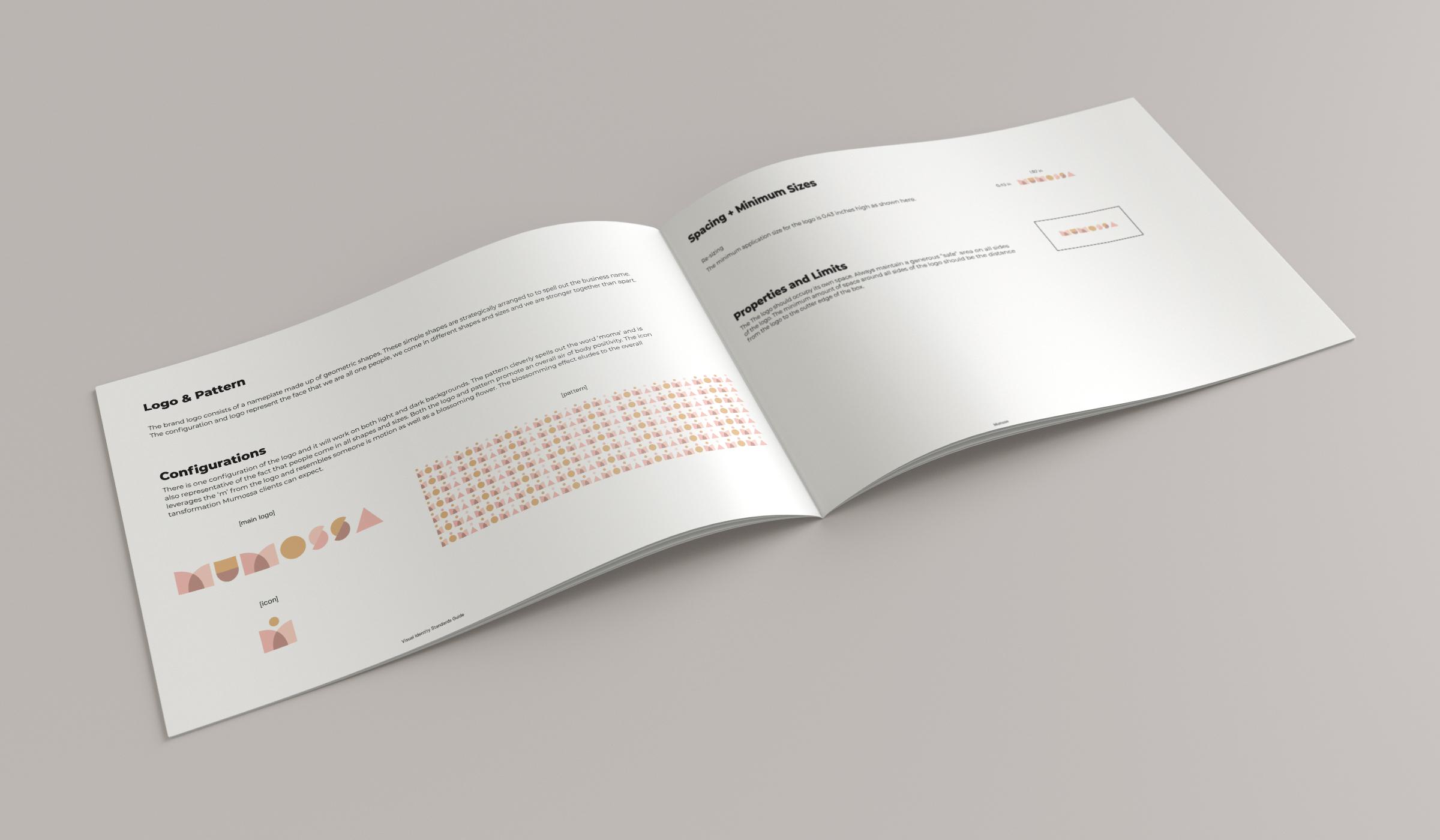 mumossa brand guide logo configurations