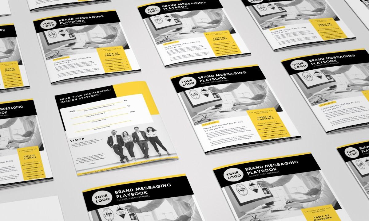 brand messaging playbook sample