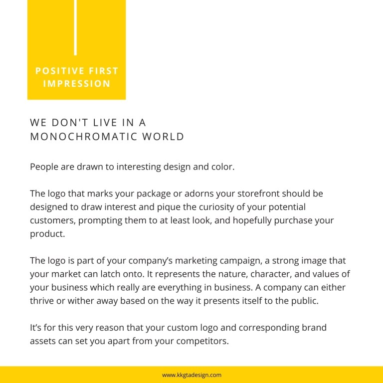text explaining why logo design is crucial.