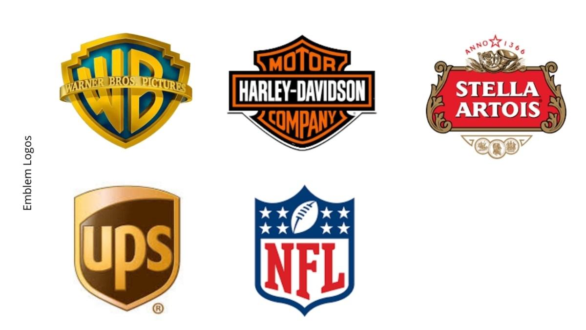 images of famous emblem logos
