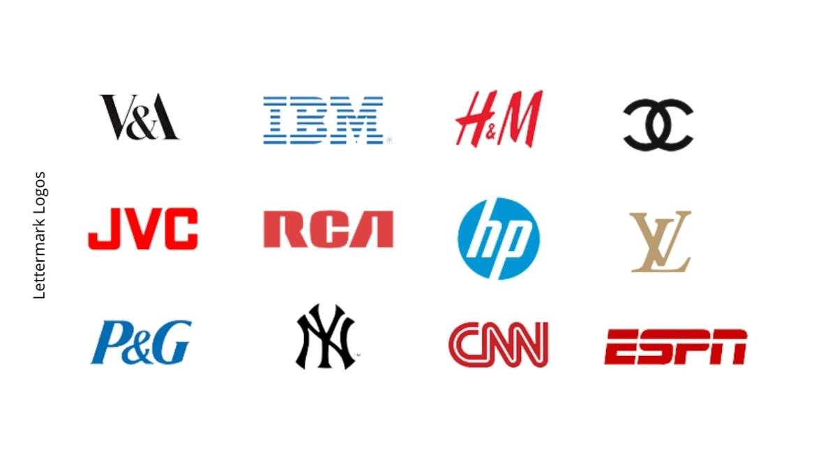 images of lettermark logos